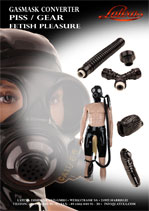 Gasmask Converter - Piss/Gear - Fetish Pleasure